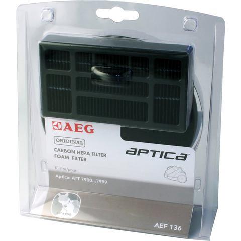 AEG Hepa-filterset Aptica AEF 136 en Vampyr T10E